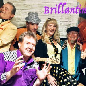 Brillantin zenekar Csömörön