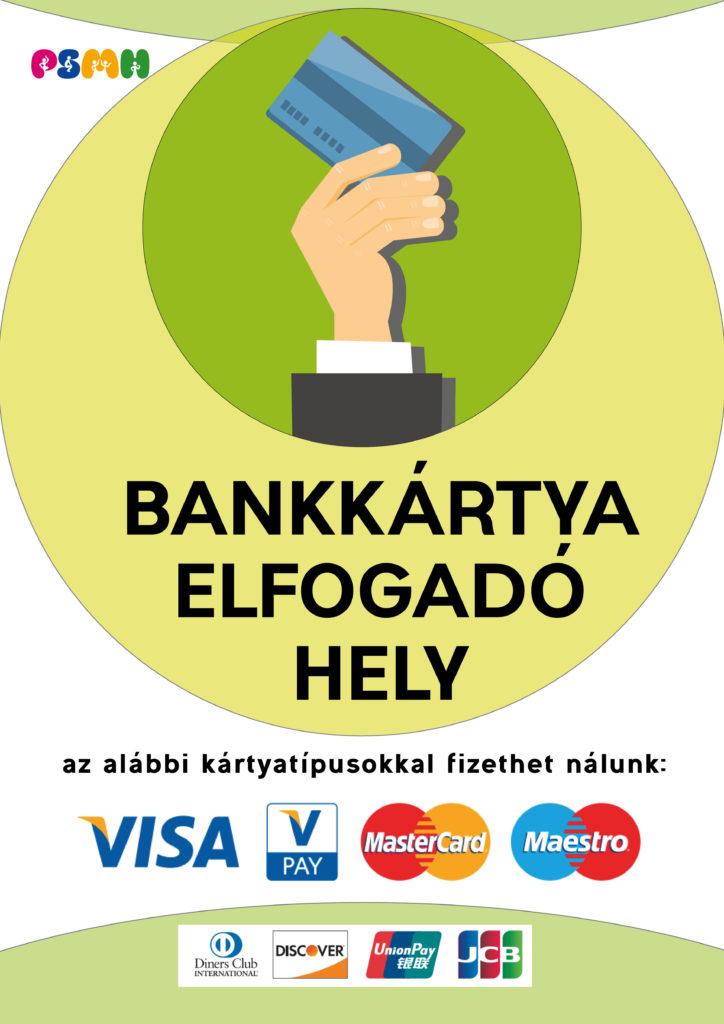Már nálunk is fizethet bankkártyával