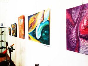 Csömöri alkotóművészek közös kiállítása