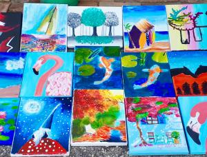Nagy festő alkotótábor gyerekeknek Csömörön